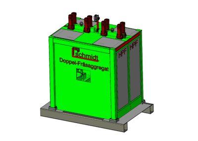 Profil-Doppelfräsaggregat HPF 4
