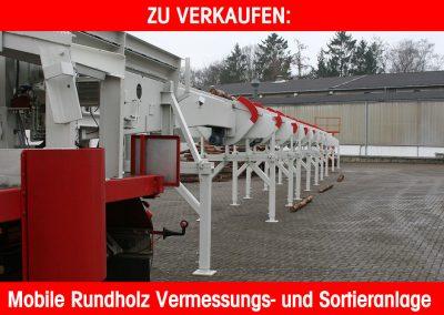 Neuwertiger Rundholzplatz
